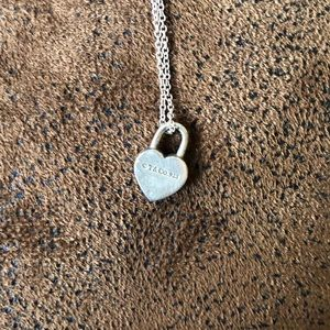 Tiffany & Co. Jewelry - Tiffany and Co. Sterling Silver Heart Necklace